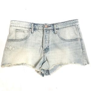 BDG Distressed Grunge Baggy Cut Off Jean Shorts